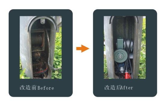 应广大客户的要求从事高杆灯升降系统改造工程,并成功实施了沪杭甬